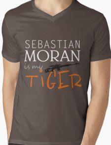 sebastian moran is my tiger Mens V-Neck T-Shirt