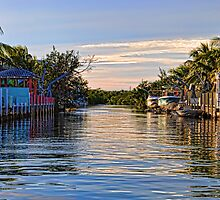 Key Largo Canal by Chris Thaxter