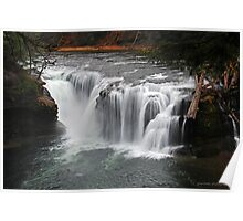 Lower Lewis River Falls Poster