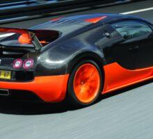 Bugatti Veyron Super Sport Sticker