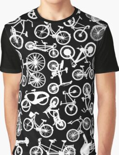 bike bikes Bicycle pattern Graphic T-Shirt