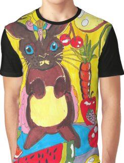 Yellow Rabbit Graphic T-Shirt
