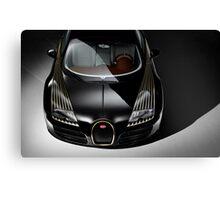 Bugatti Veyron Black Bess Canvas Print