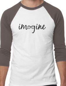 Imagine - John Lennon  Men's Baseball ¾ T-Shirt