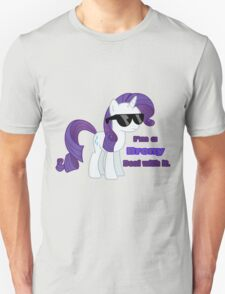 I'm a Brony Deal with it. (Rarity) - My little Pony Friendship is Magic Unisex T-Shirt