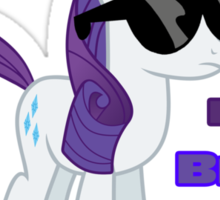 I'm a Brony Deal with it. (Rarity) - My little Pony Friendship is Magic Sticker