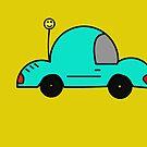 Happy Car by Kelly Pierce