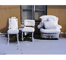 Cold Furnishings Photographic Print