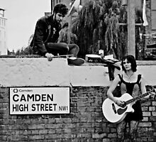 Camden High Street by Mojca Savicki