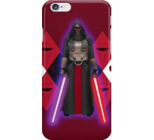 darth revan iPhone Case/Skin