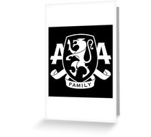 Asking Alexandria Family. Greeting Card