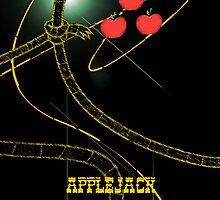 Applejack iPod case by EhKanadian