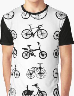 bike pattern Bicycle madness Graphic T-Shirt