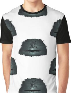 Floating Tree Graphic T-Shirt