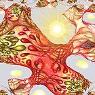 Heartsease Fractal by Helena Wilsen - Saunders
