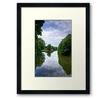 River Medway  Framed Print