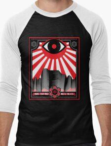 Kryptik Kanyon Men's Baseball ¾ T-Shirt