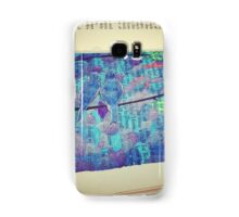 Silhouettes in the sunset Samsung Galaxy Case/Skin
