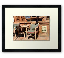 have a nice day :) Framed Print