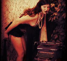 Typewriter Erotica by Eric  David Lough