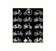 bike bikes Bicycle cycle cycling Art Print