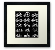 bike bikes Bicycle cycle cycling Framed Print