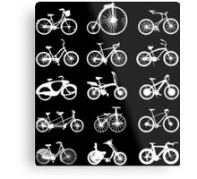 bike bikes Bicycle cycle cycling Metal Print