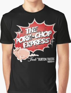 Big Trouble in Little China Pork Chop Express Graphic T-Shirt