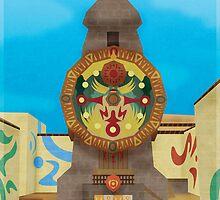 Majora's Mask - Clock Town Poster by jindesign