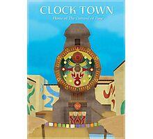 Majora's Mask - Clock Town Poster Photographic Print