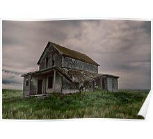 Parkberg Saskatchewan Farm House 2 Poster