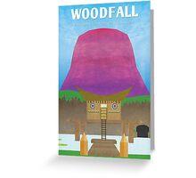 Majora's Mask - Woodfall Poster Greeting Card