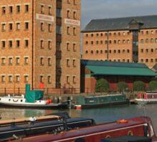Britannia Warehouse and Docks, Gloucester Sticker
