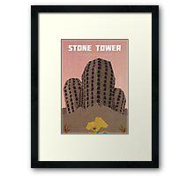 Majora's Mask - Stone Tower Poster Framed Print