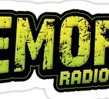 Tremors Radio Sticker