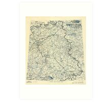 May 14 1945 World War II Twelfth Army Group Situation Map Art Print