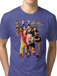 1 - 2 - 3 - 4 - 5 SPICE GIRLS! Tri-blend T-Shirt
