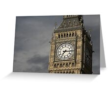 Big Ben 3 Greeting Card