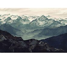 Mountain Fog Photographic Print