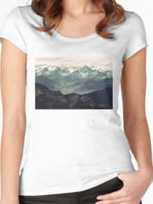 Mountain Fog Women's Fitted Scoop T-Shirt
