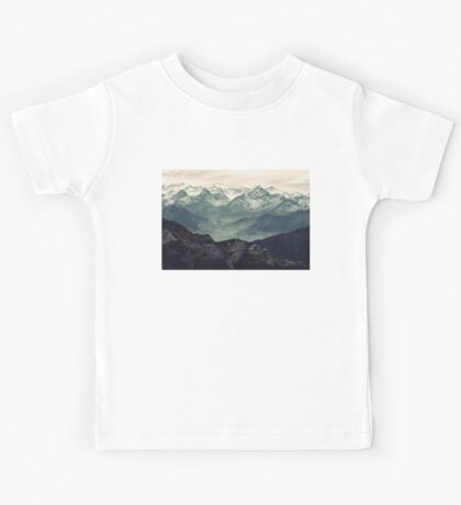 Mountain Fog Kids Tee