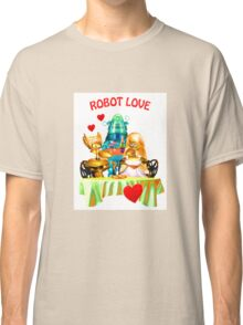Robot Love (the shirt) Classic T-Shirt