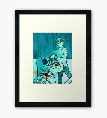 Hatchet Framed Print