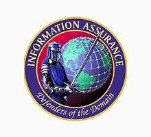 "NSA Information Assurance ""Defenders"" Crest Unisex T-Shirt"