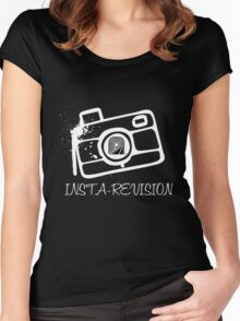 INSTA-REVISION Tee :D Women's Fitted Scoop T-Shirt