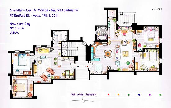 Friends Apartment by Iñaki Aliste Lizarralde