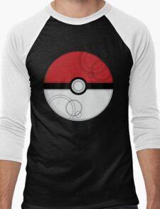 Pokeball Men's Baseball ¾ T-Shirt