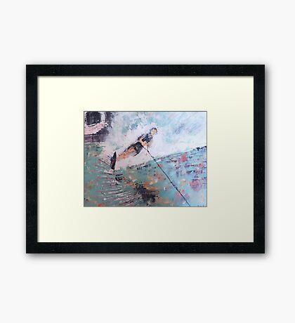 Water Skier Framed Print