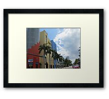 Architecture, Miami. Framed Print