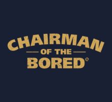 Chairman Of The Bored (Yellow) One Piece - Long Sleeve